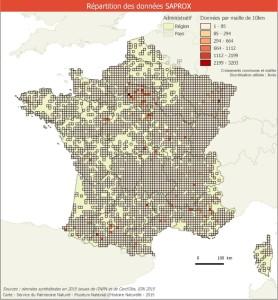 répartition des données par mailles-median