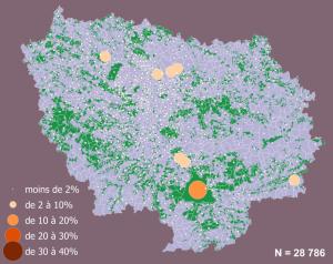 répartition obs après 1990