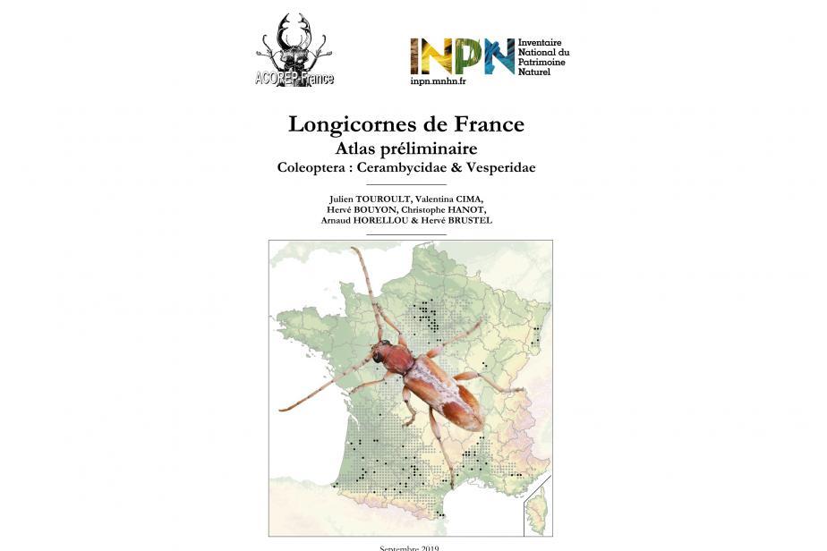 couverture longicornes de France - Atlas préliminaire